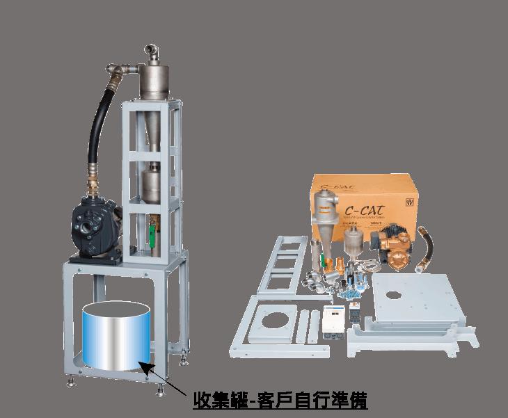 C-CAT 手動型切削液過濾淨化系統 2