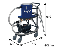 LAX液中掃除機-污泥脫水機 3