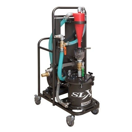 脱水機能付過濾装置 SLX